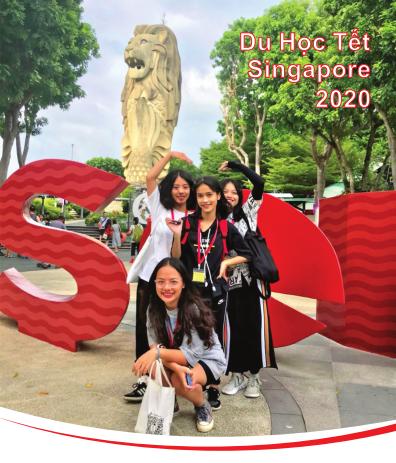 DU HỌC TẾT NGUYÊN ĐÁN 2020 – TRẢI NGHIỆM SINGAPORE 06 NGÀY 05 ĐÊM